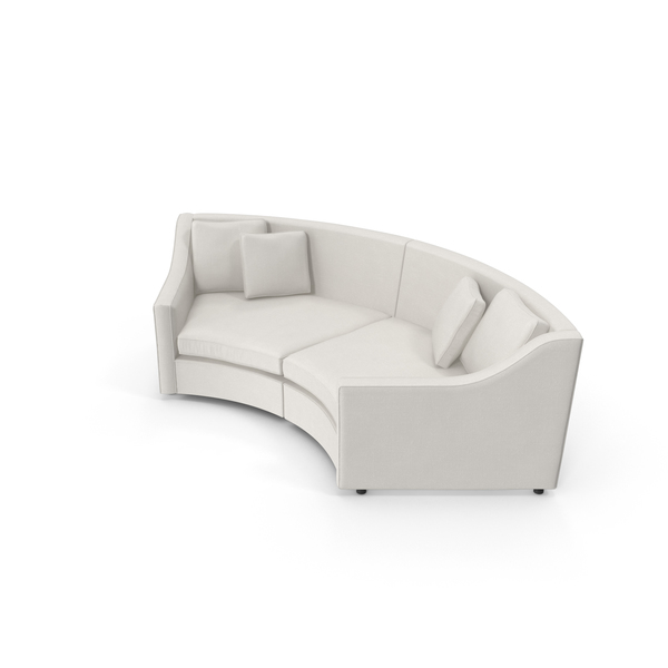 Transitional Corner Sofa PNG & PSD Images
