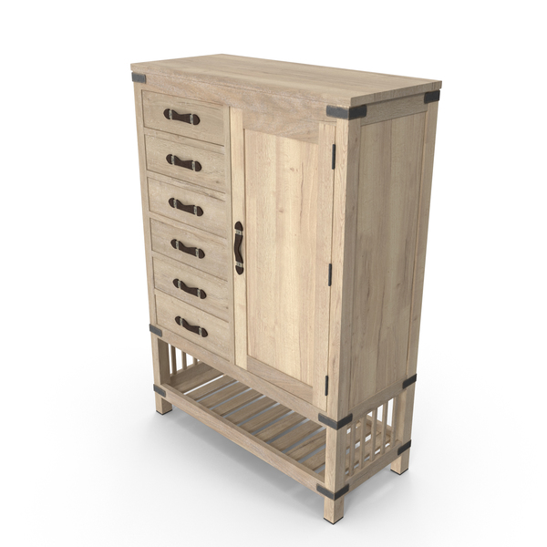 Armoire: Transitional Wardrobe PNG & PSD Images