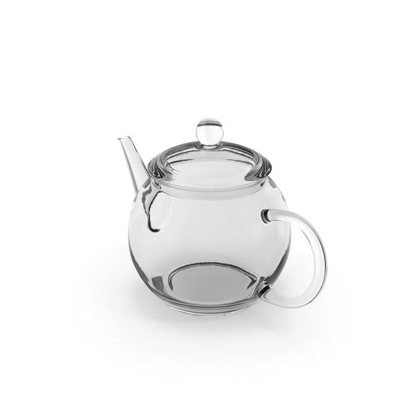Transparent Empty Glass Teapot PNG & PSD Images