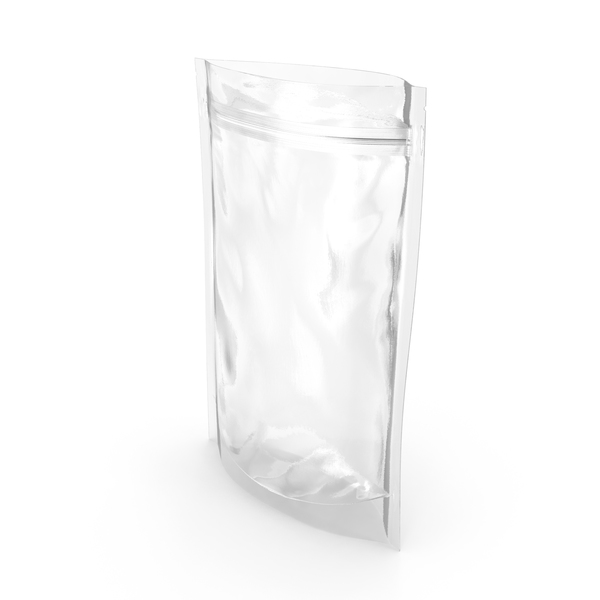 Transparent Plastic Bag Zipper 200 g Open PNG & PSD Images