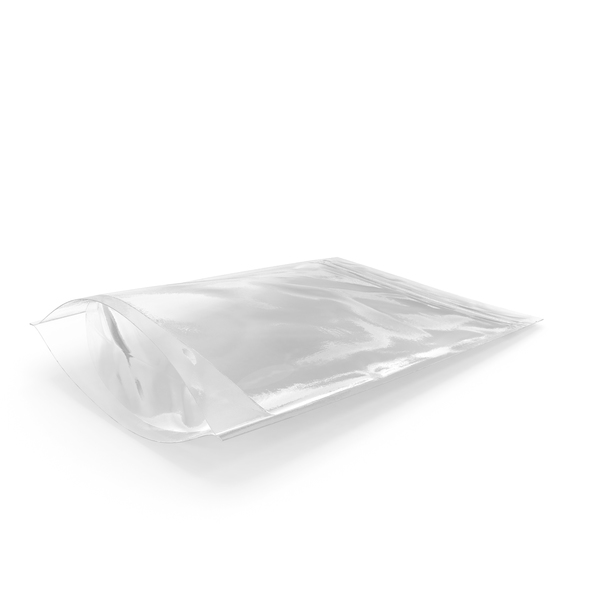 Transparent Plastic Bag Zipper 220 g PNG & PSD Images