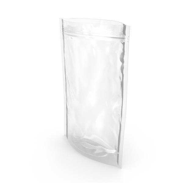 Food Container: Transparent Plastic Bag Zipper 300 g Open PNG & PSD Images