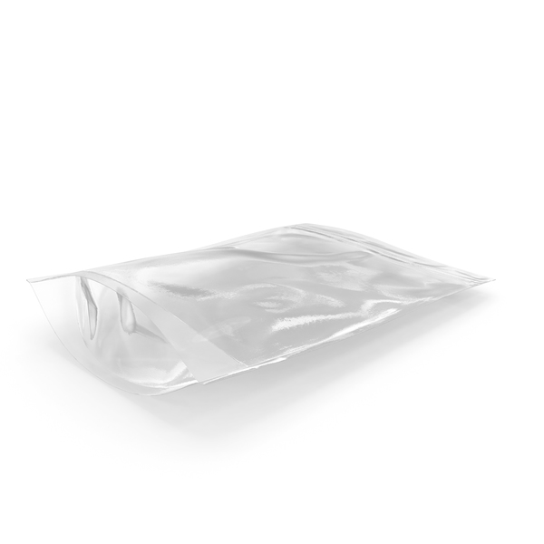 Transparent Plastic Bag Zipper 300 g PNG & PSD Images