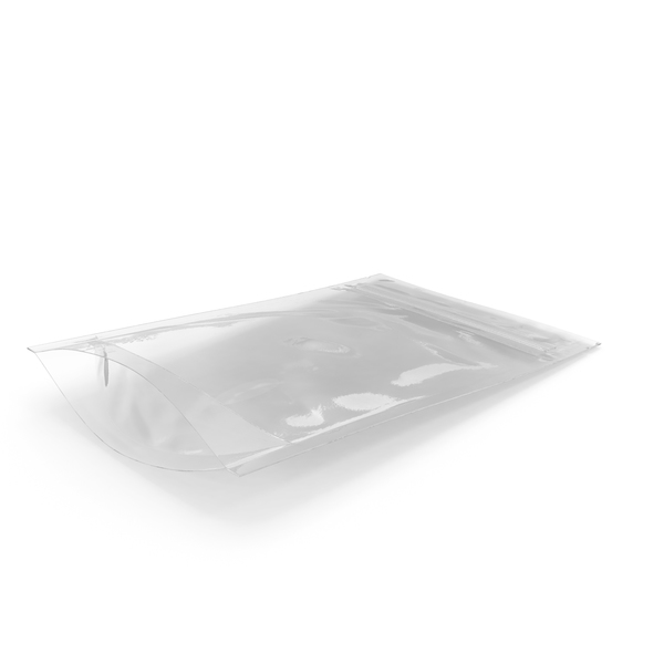 Food Container: Transparent Plastic Bag Zipper 50 g PNG & PSD Images