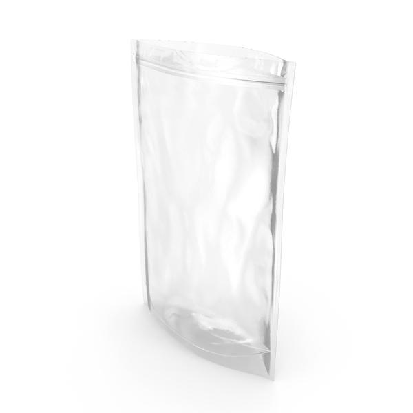 Food Container: Transparent Plastic Bag Zipper 500 g Open PNG & PSD Images