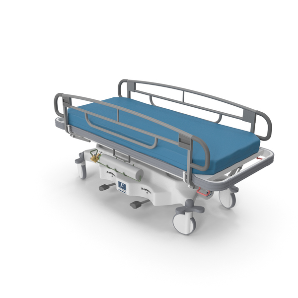 Hospital Bed: Transport Stretcher PNG & PSD Images