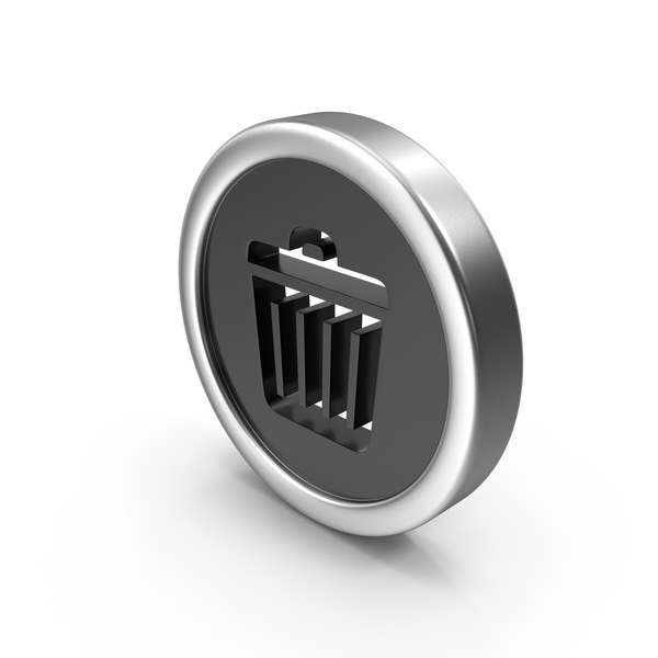 Computer: Trash Can Icon PNG & PSD Images