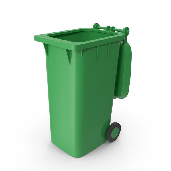Wheeled Bin: Trash Dumpster Open PNG & PSD Images