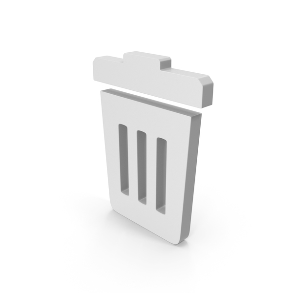 Computer: Trash Icon PNG & PSD Images