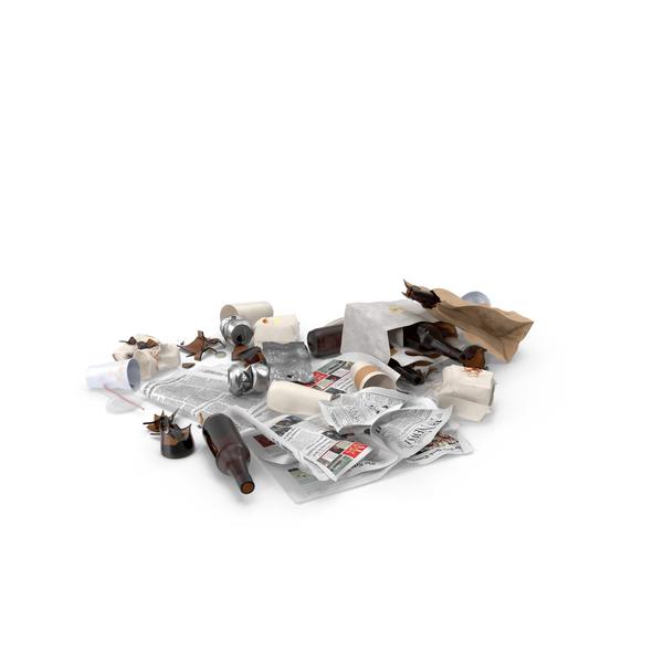 Trash Pile PNG & PSD Images
