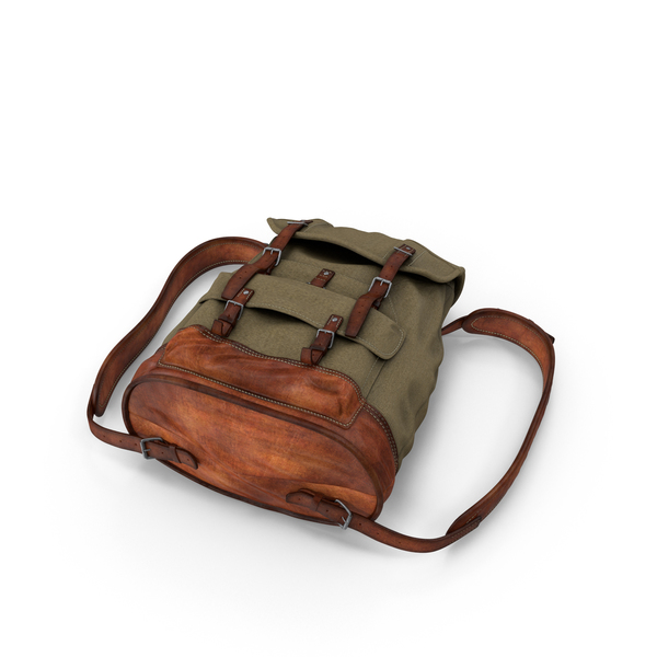 Travel Backpack Object