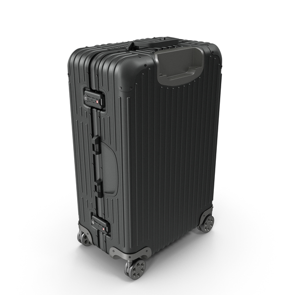 Travel Suitcase Rimowa Original Check-In Black PNG & PSD Images