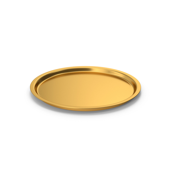 Tray Gold PNG & PSD Images