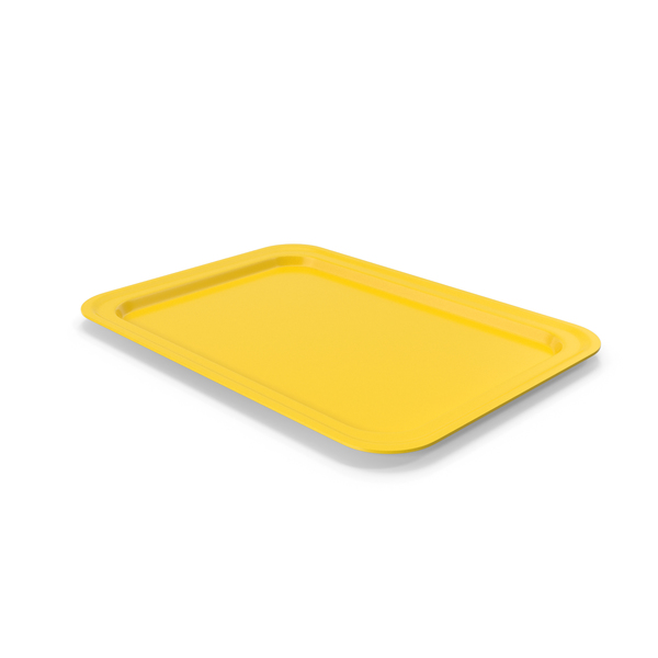 Tray Yellow PNG & PSD Images