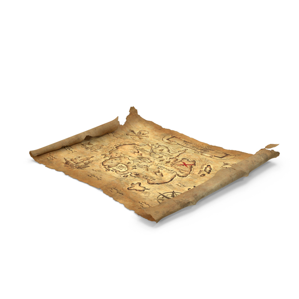 Treasure Map Object