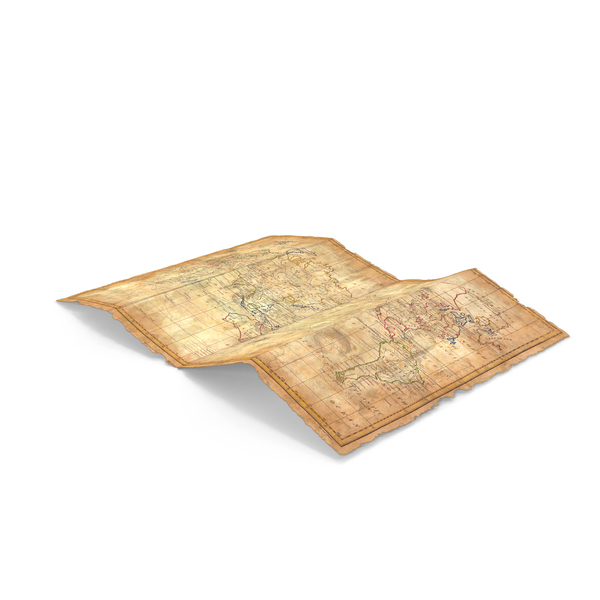 Treasure Map PNG & PSD Images