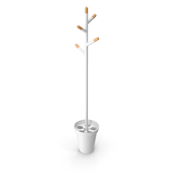 Tree Of Everyday Life - Coat Rack Stand PNG & PSD Images