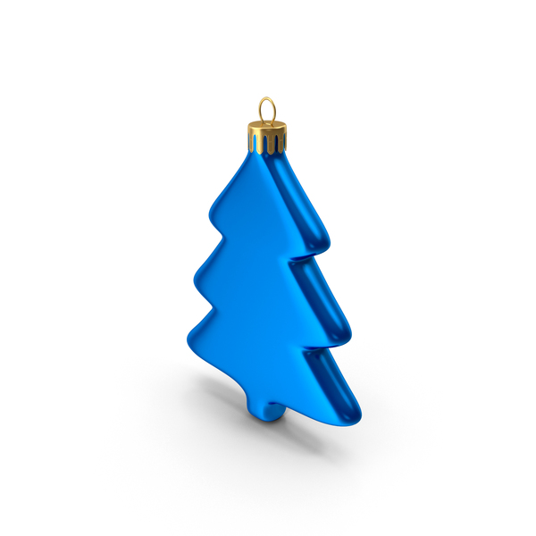 Tree Ornament Blue PNG & PSD Images