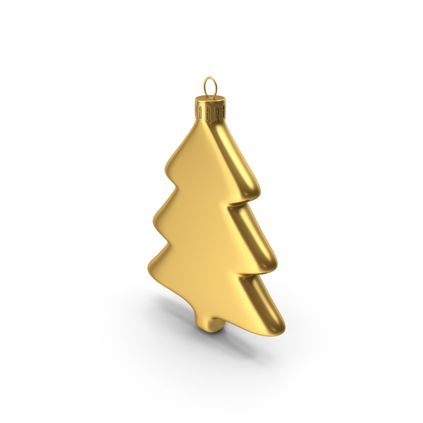 Tree Ornament Gold PNG & PSD Images