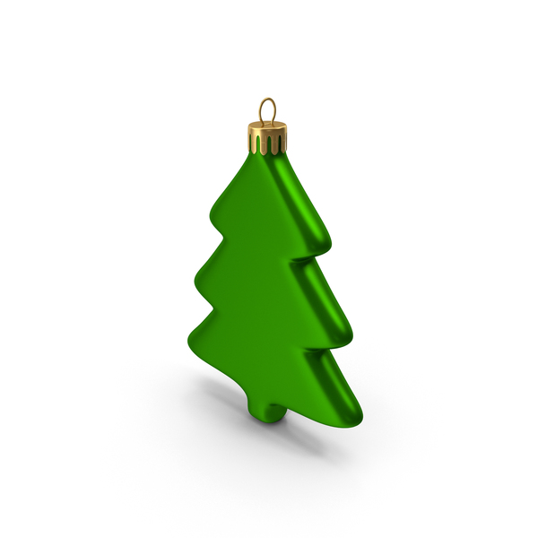 Tree Ornament Green PNG & PSD Images