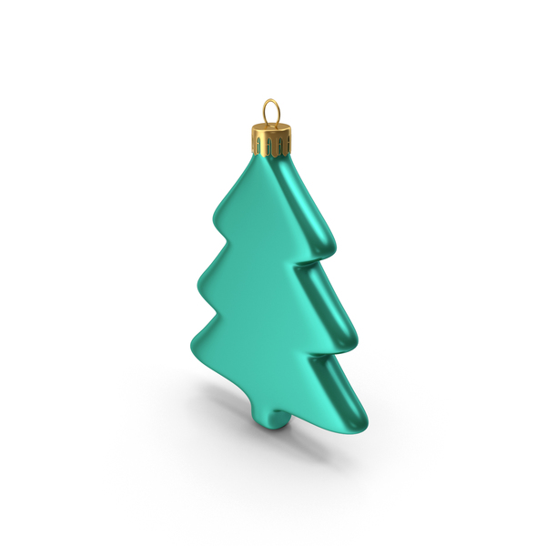 Tree Ornament Green Blue PNG & PSD Images