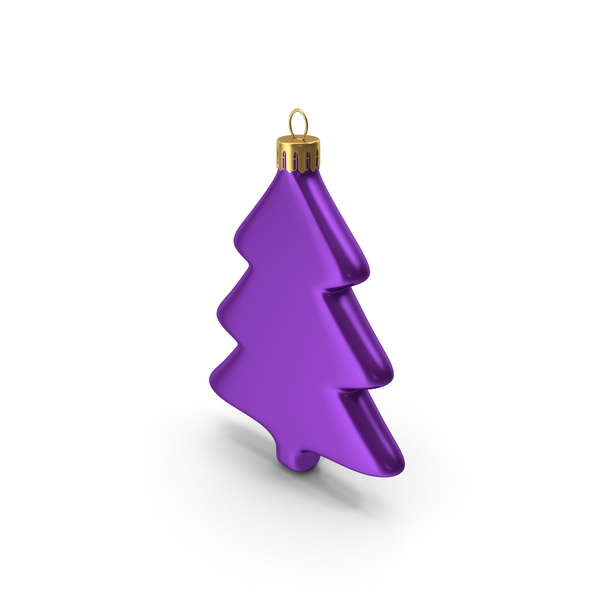 Tree Ornament Purple PNG & PSD Images