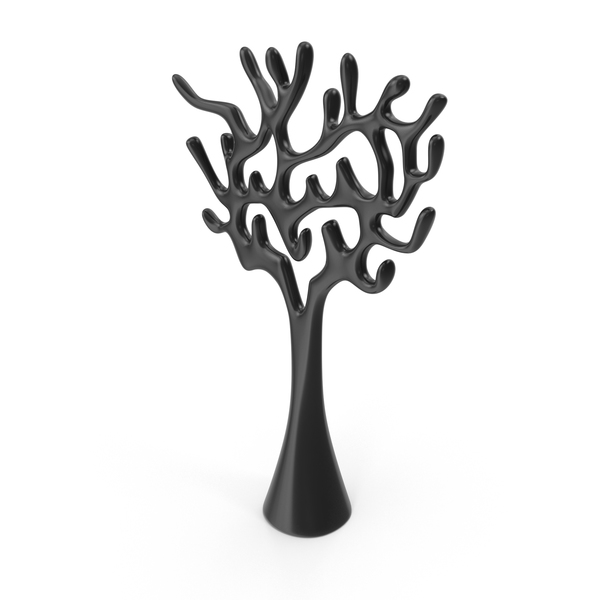 Tree Sculpture Black PNG & PSD Images