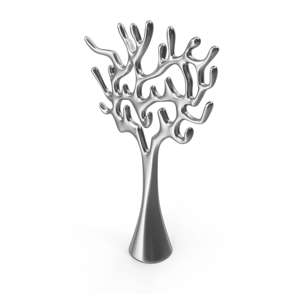 Abstract: Tree Sculpture Steel PNG & PSD Images