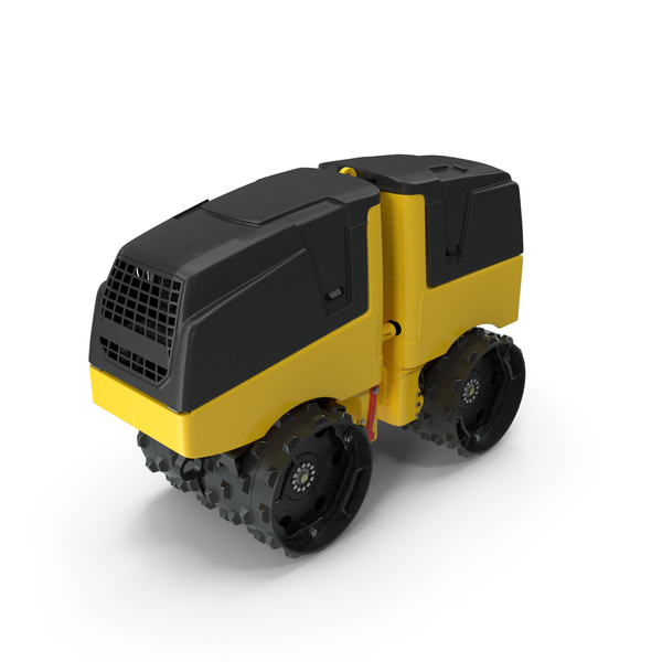 Compactor: Trench Roller PNG & PSD Images