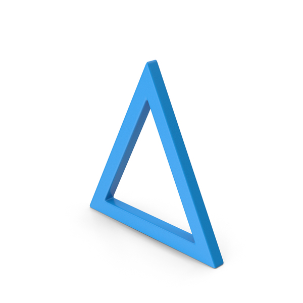Computer Icon: Triangle Blue PNG & PSD Images