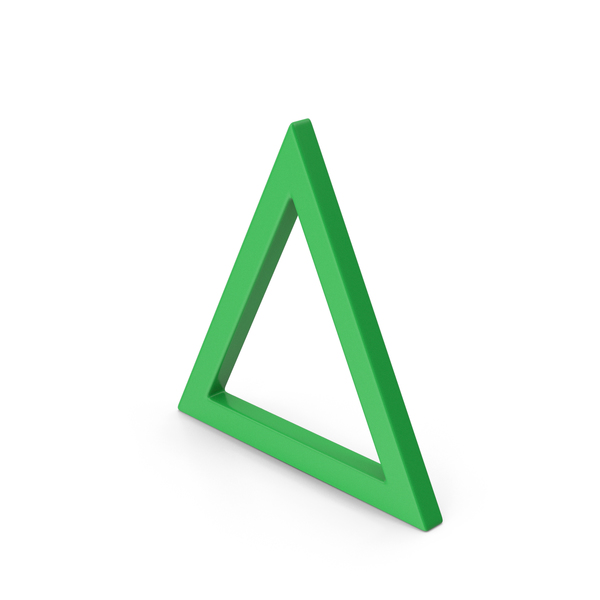Computer Icon: Triangle Green PNG & PSD Images