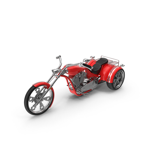 Trike Chopper PNG & PSD Images