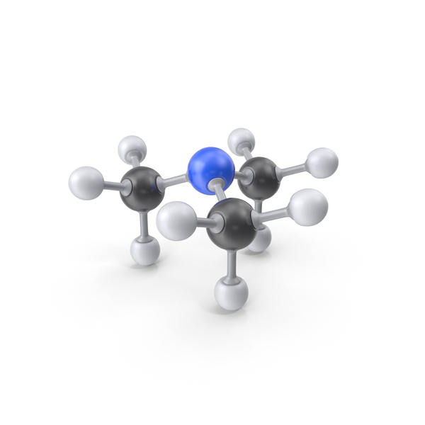 Trimethylamine Molecule PNG & PSD Images