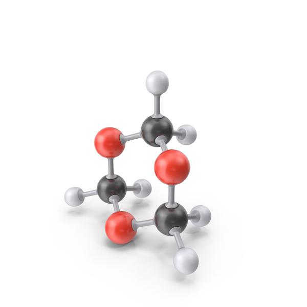 Trioxane Molecule PNG & PSD Images