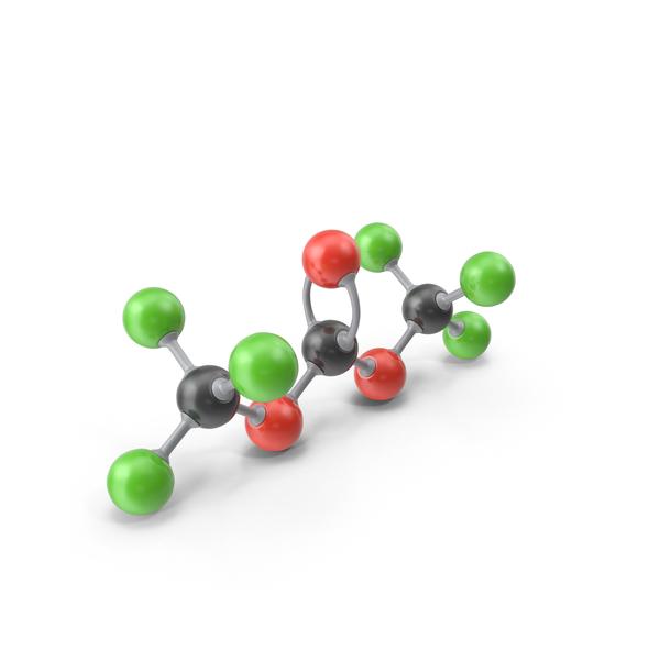 Triphosgene Molecule PNG & PSD Images