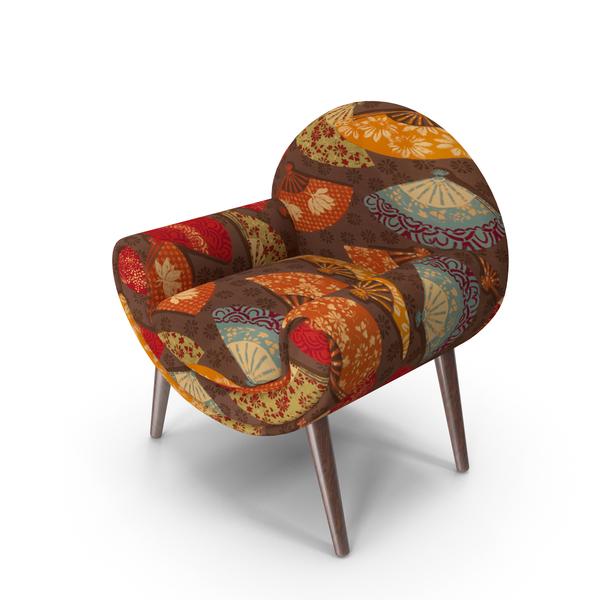 Arm Chair: Tripti Armchair PNG & PSD Images