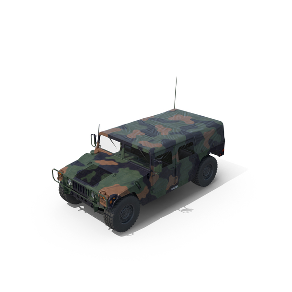 Troop Carrier HMMWV M1035 Door Open PNG & PSD Images