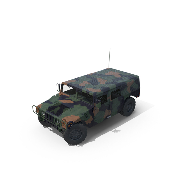 Troop Carrier HMMWV M1035 PNG & PSD Images