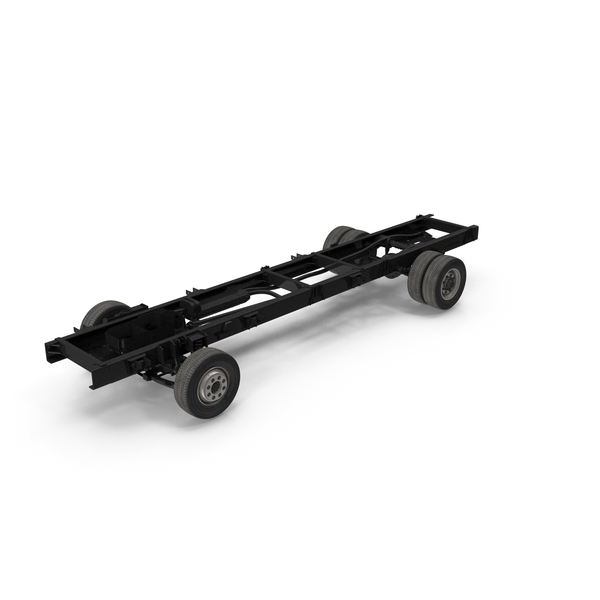 Truck Chassis 2x4 PNG & PSD Images