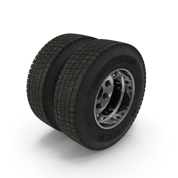 Tire: Truck Rear Wheels PNG & PSD Images