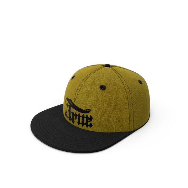 True snapback Yellow PNG & PSD Images