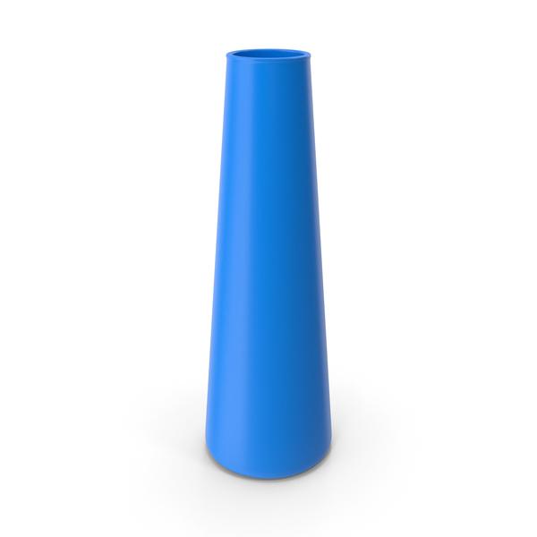 Tube Vase Blue PNG & PSD Images