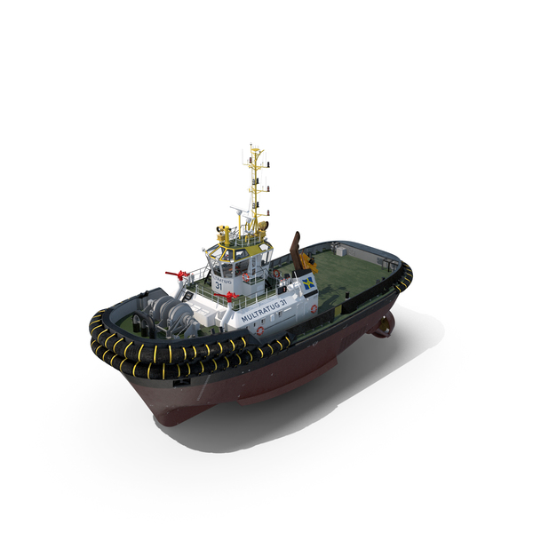 Tug Boat PNG & PSD Images