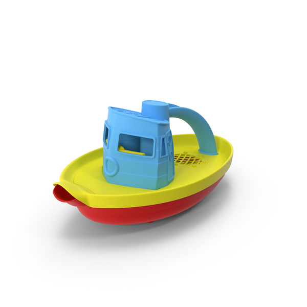 Tugboat Bath Toy PNG & PSD Images