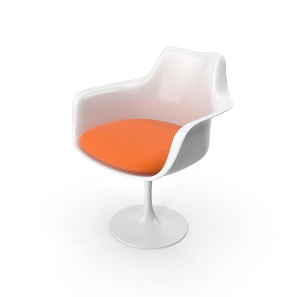 Tulip Chair With Arms PNG & PSD Images