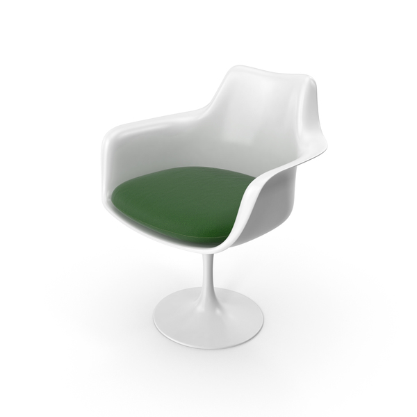 Tulip Chair With Arms Object