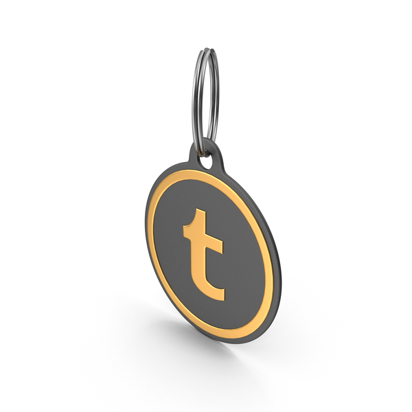 Keychain: Tumblr Logo Icon PNG & PSD Images