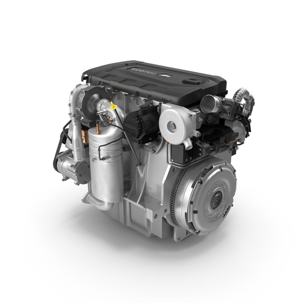 Turbo Diesel Engine Chevrolet Cruze PNG & PSD Images