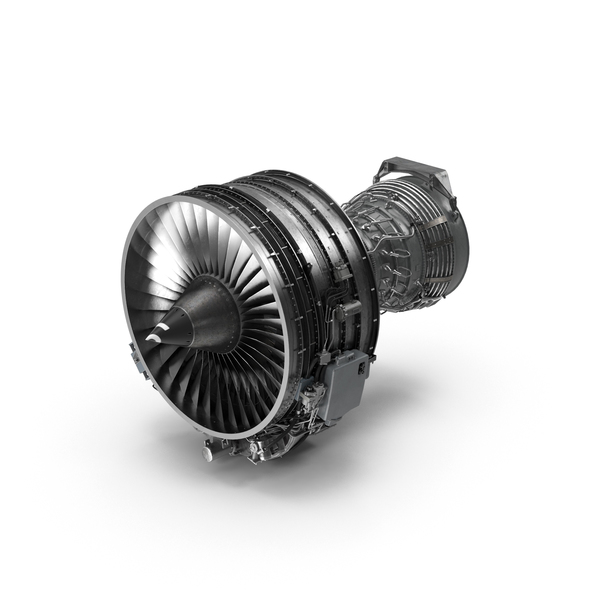 Turbofan Aircraft Engine CFM International CFM56 PNG & PSD Images