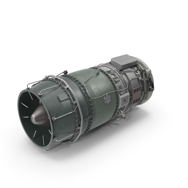 Turbojet Engine Object